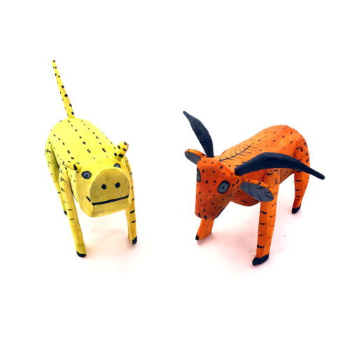 Wilber Santiago Wilber Santiago: Old Style Pig & Goat Set Classic Style