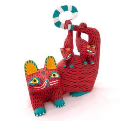 Moises Jimenez & Oralia Cardenas Moises Jimenez: Red Possum Family Baby Animals