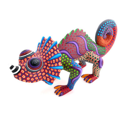 Damian & Beatriz Morales Damian and Beatriz Morales: Multi-Color Horned Chameleon Chameleon