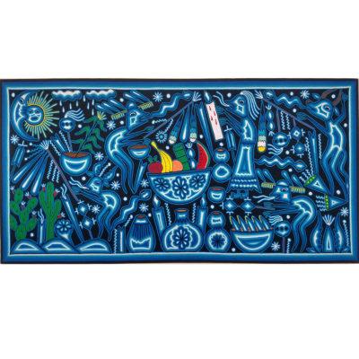Wixárika (Huichol) Art Emilio de la Cruz Benitez: Premier Huichol Yarn Painting Direct from Mexico Emilio de la Cruz Benitez