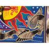 Wixárika (Huichol) Art Neikame: Moon / Sun Premier Very Fine Huichol Yarn Painting – Direct From Mexico Huichol