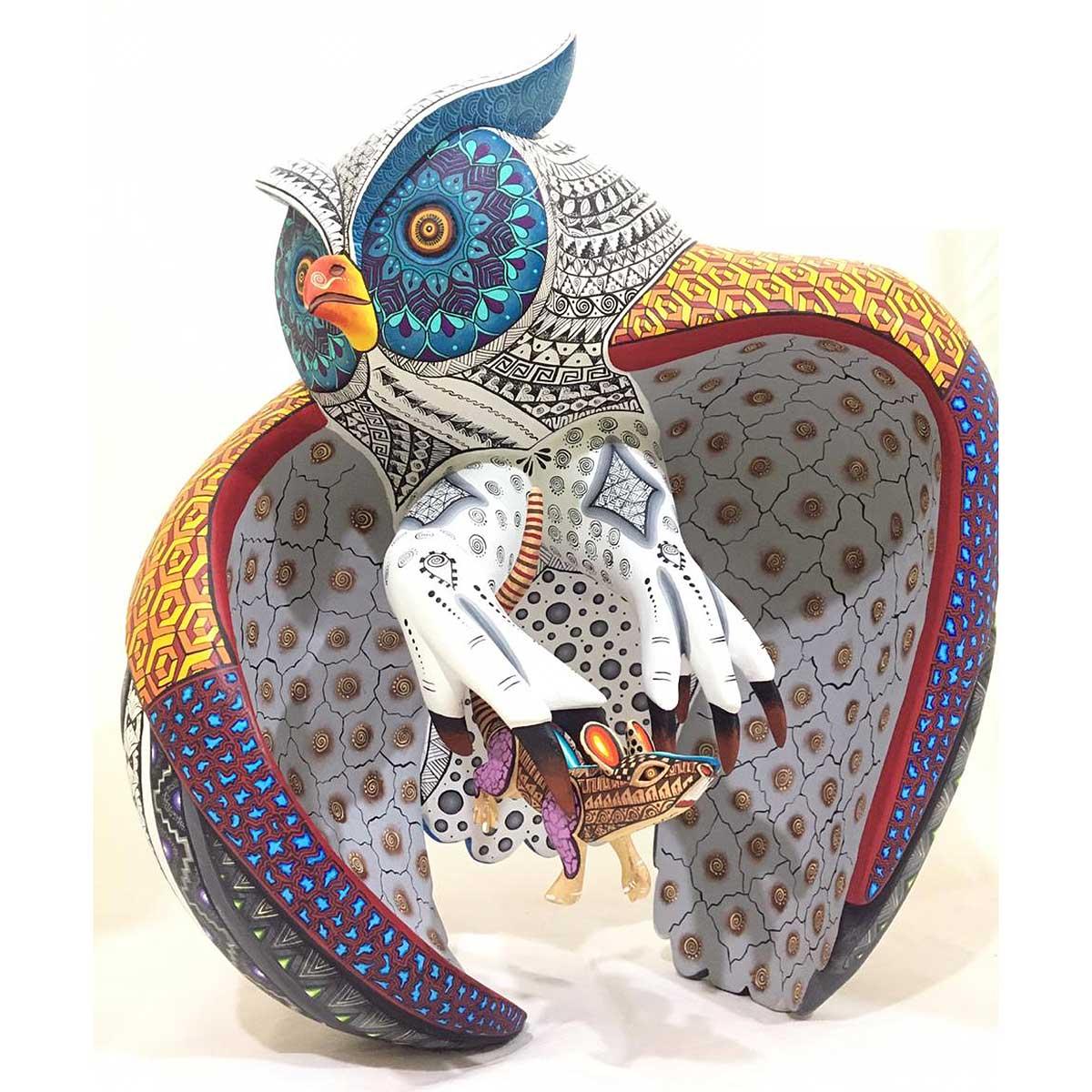Agustín Cruz Prudencio Agustín Cruz Prudencio: Hunting Owl [tag]