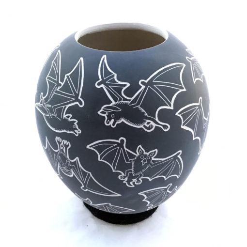 Adrian Corona Trillo Adrian Corona Trillo: Black Bat Pot Bats