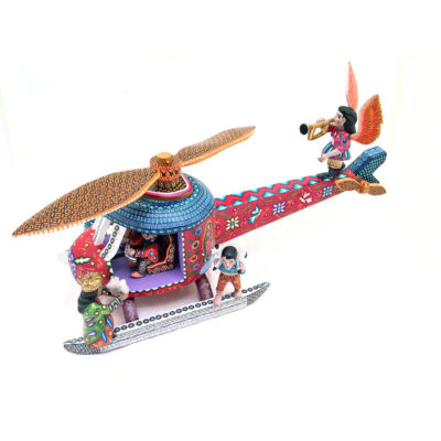 Agustín Cruz Prudencio Agustín Cruz Prudencio: Premier Helicopter Nativity – Direct from Mexico Nativity