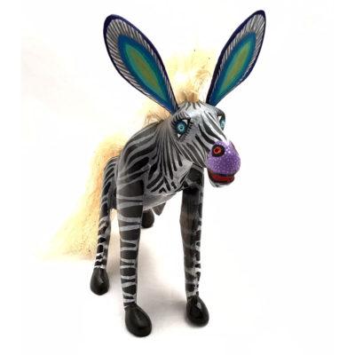 Epifanio Fuentes & Laurencia Santiago Epifanio Fuentes & Laurencia Santiago: Medium Zebra African Animals