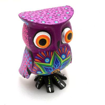 Margarita Sosa Margarita Sosa / Milagros de Copal: Purple Owl Birds