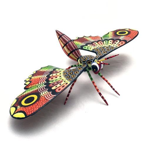 Oaxacan Wood Carving Raul Blas: Medium Butterfly Butterfly