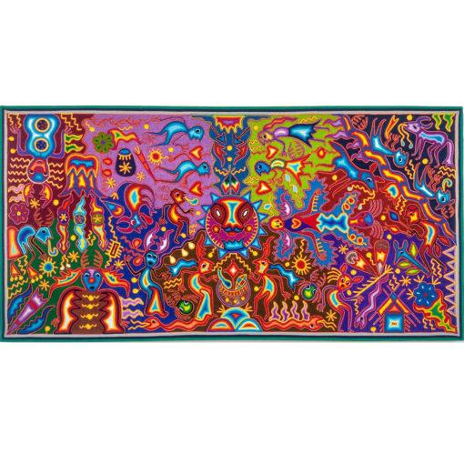 Wixárika (Huichol) Art Hilaria Chávez Carrillo: Premier Huichol Yarn Painting Hilaria Chavez Carrillo