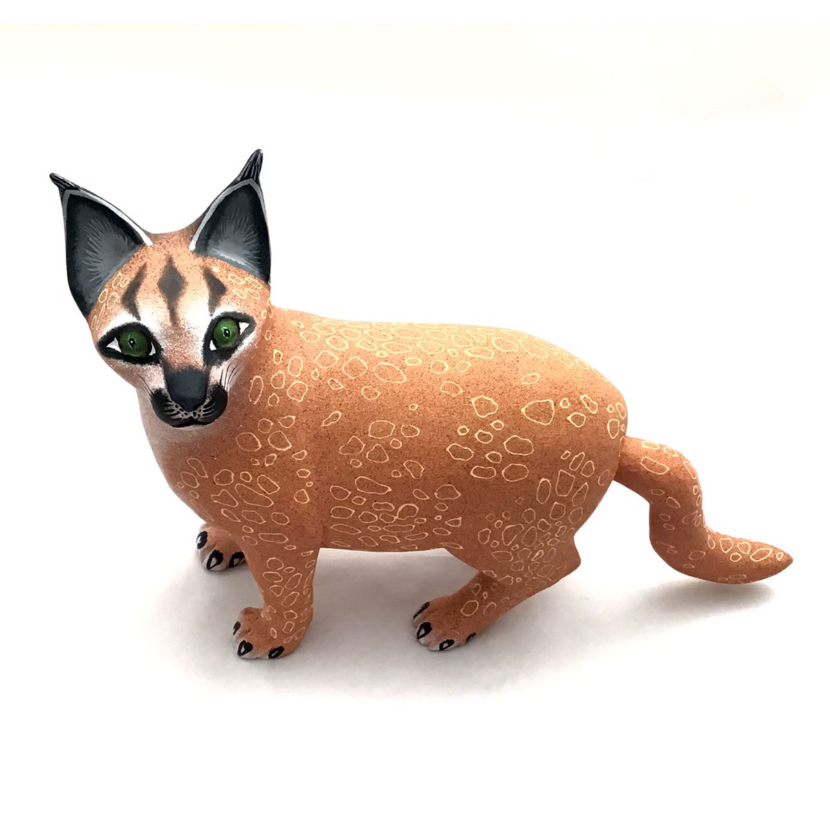 "Eleazar Morales: ""Big Floppa"" Inspired Caracal Cat"