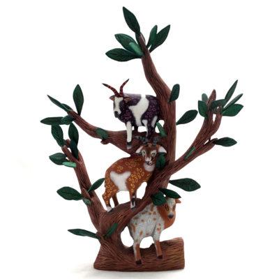 Eleazar Morales Eleazar Morales: Moroccan Goat Tree Goats