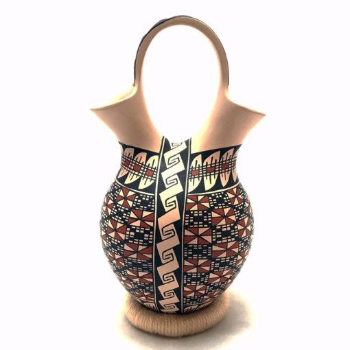 Basket Weave Rosa Loya: Wedding Vase Basket Weave