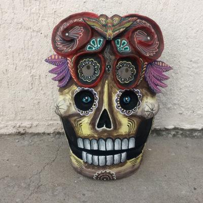 Cartoneria (Mexican Paper Mache) Isaias Alejandro Morales Delgado: Handmade Mask cartoneria
