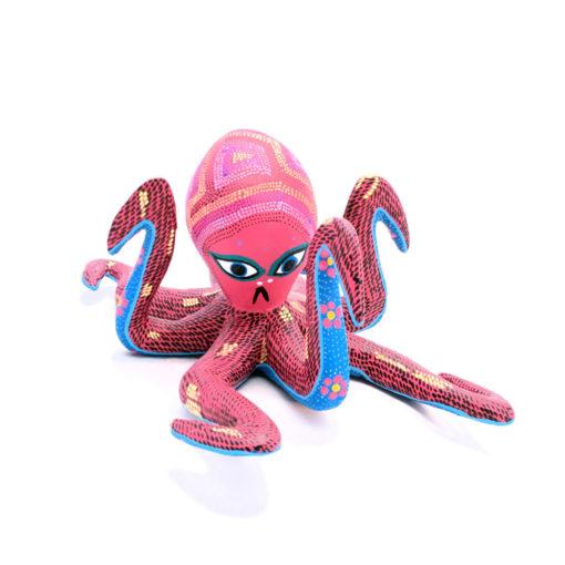 Raymundo Santiago Raymundo Santiago: Small Octopus Alebrijes