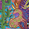 Wixárika (Huichol) Art Justo Benitez: Premier Huichol Yarn Painting Direct from Mexico Huichol