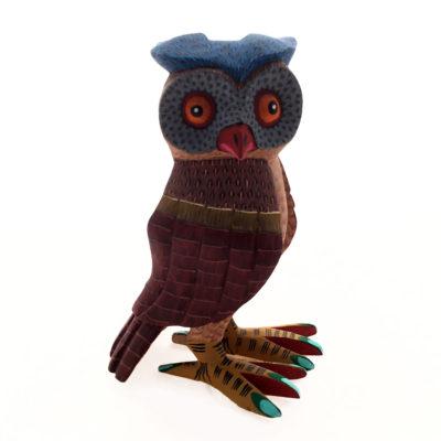 Eleazar Morales Eleazar Morales: Medium Horned Owl Birds