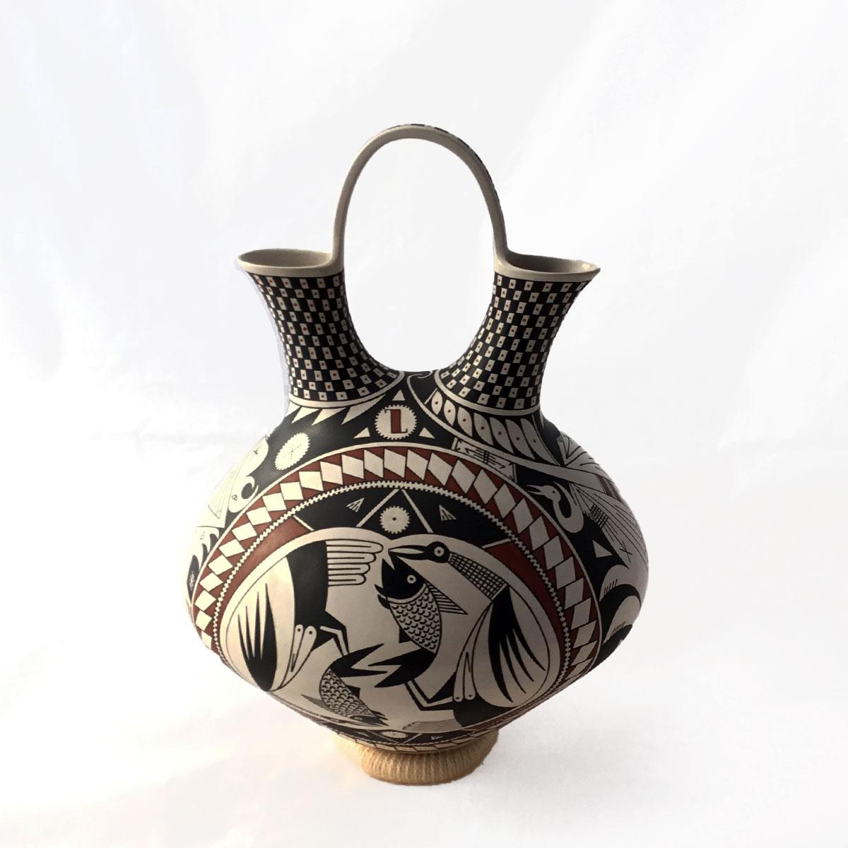 Guadalupe Gallegos Guadalupe Gallegos: Rare Wedding Vase Guadalupe Gallegos