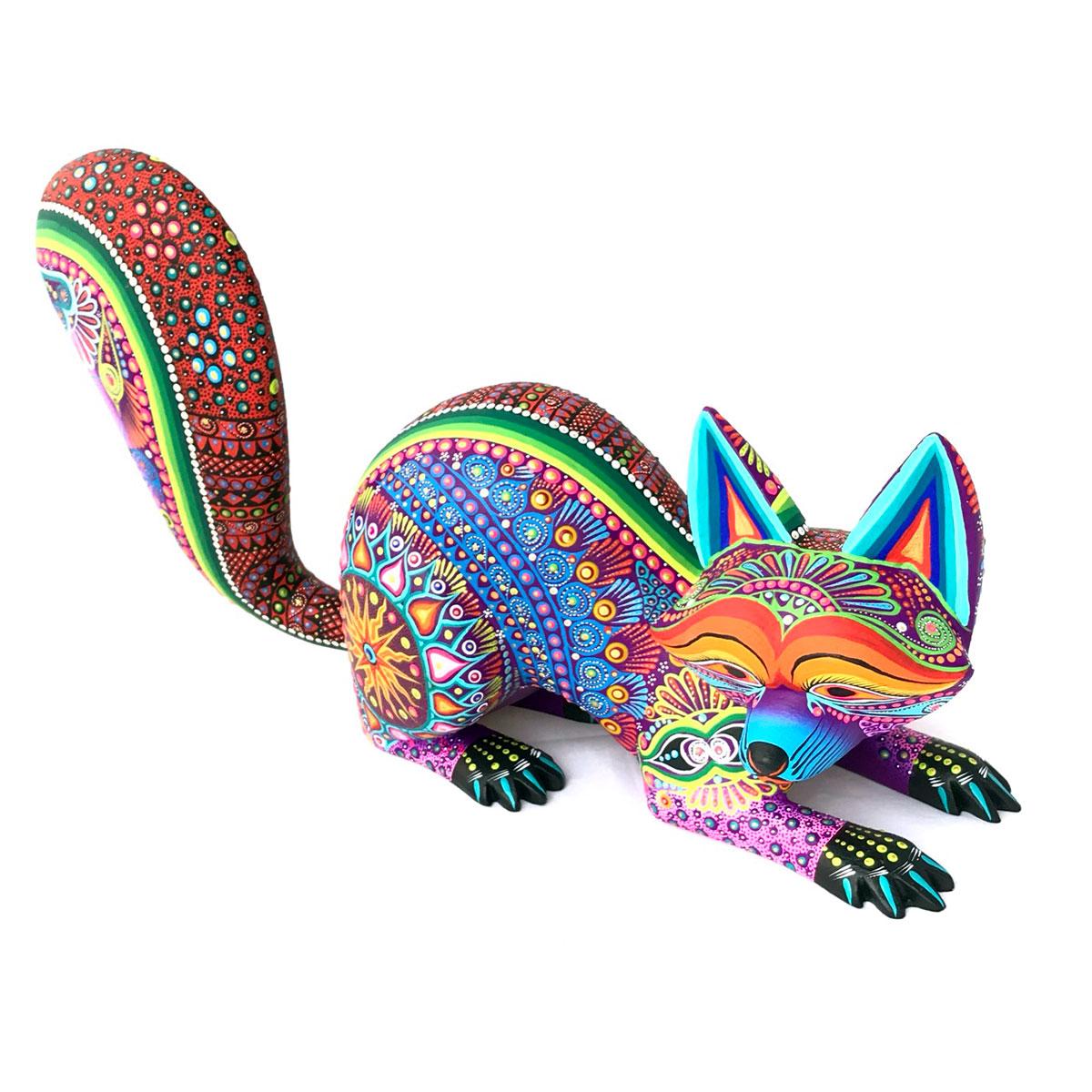 Margarita Sosa Margarita Sosa / Milagros de Copal: Colorful Raccoon raccoons