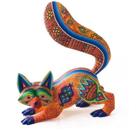 Margarita Sosa Margarita Sosa / Milagros de Copal: Orange Raccoon raccoons