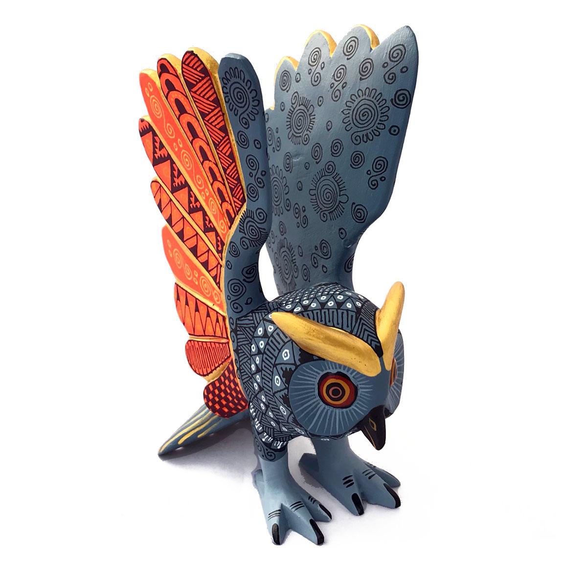 Abundio Munoz Abundio Munoz: Owl Alebrijes