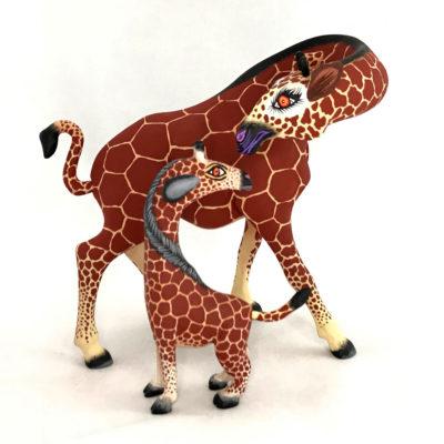 Eleazar Morales Eleazar Morales: Giraffe Family Baby Animal