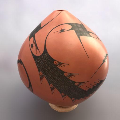 Mauro C. Quezada Mauro C. Quezada: Rare Red Teardrop Pot Mata Ortiz Pottery