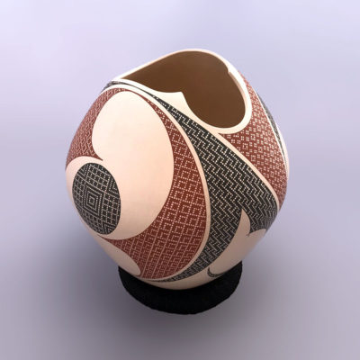 Elias Pena Elias Peña: Modern Elegant Cutout Pot Geometric