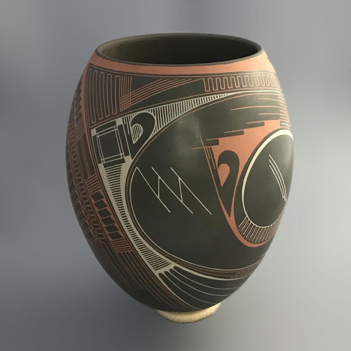 Nicolas Quezada Nicolas Quezada: Rare Large Collector Masterpiece Geometric