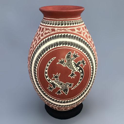 Jesus Villalba Jesus Villalba: Lizard Vase Lizard