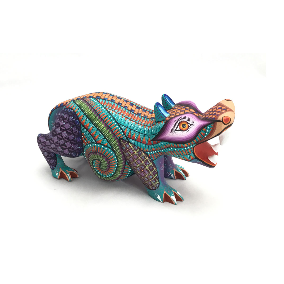 Ivan Fuentes & Mayte Calvo Ivan Fuentes & Mayte Calvo: Small Colorful Hippo African Animals