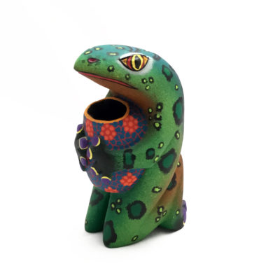 Damian & Beatriz Morales Damian & Beatriz Morales: Frog with Water Vessel Frog