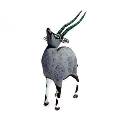 Eleazar Morales Eleazar Morales: Gray Gazelle African Animals