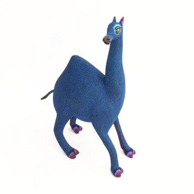 Eleazar Morales Eleazar Morales: Blue Camel African Animals