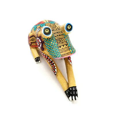 Bertha Cruz Bertha Cruz:  Rare Small Frog Oaxacan Woodcarving