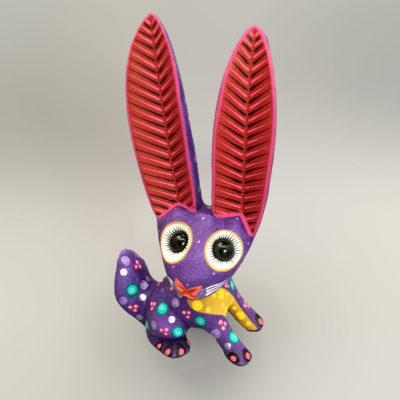 Azucena Santiago Azucena Santiago: Purple Rabbit Rabbit