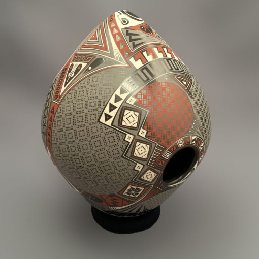 Fabian Ortiz Fabian Ortiz: Elegant Tear Drop Bird House Style Geometric