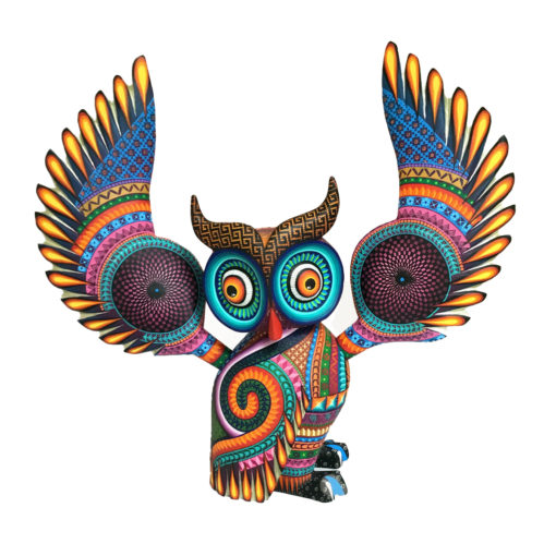 Magaly Fuentes & Jose Calvo Magaly Fuentes & Jose Calvo: Large Ornate Owl Birds